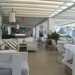 Um dos espaços  destinado as refeições