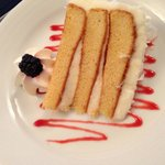 Coconut cake from the concierge room