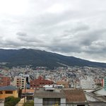 Quito from the roof of St. galen haus
