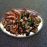 Combo seafood platter