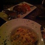 meatloaf Wellington and lobster mac'n'cheese