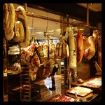 Cured meats section