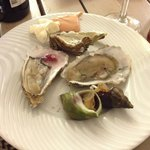 Oysters (fish meat and veg in all sorts)