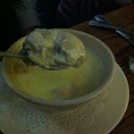 Check out the size of this oyster from the oyster stew!