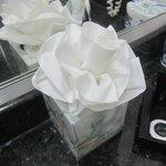 Cute tissue flower