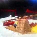 exquisite dessert