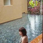 Ponds surronding the whole Villa