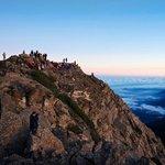 Standing on top of Jade Mountain, Taiwan