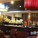 Breakfast set up - Buffet