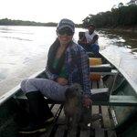 Peru side of river @ Zacambu Natural Reserve Lodge