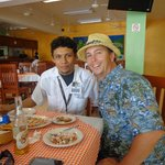 My good Friend Angel!  the best taxi driver in Cozumel!