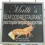 Malli's Seafood Restaurant 2013