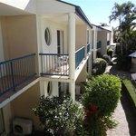 Balconies with view toward Keyser Isl