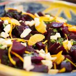 Beetroot, orange and feta