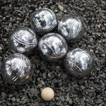 Petanque (boules) at the Tin Roof Cafe
