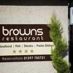 Foto di Browns Restaurant at Nevis Bank Inn