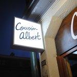 Enseigne Cousin Albert