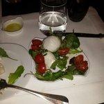 My caprese salad -- amazing!!
