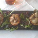 Creamy Mushrooms on Crostini