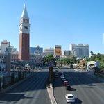 view of Las Vegas strip.