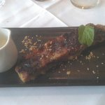 CHOCLATE BREAD & BUTTER PUDDING