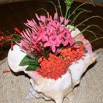 Martha's daily flower arrangement