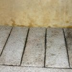 sol douche  en granit
