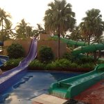 J&M-1stWA@TAH-Fun Water Slides, especially the Green one!