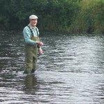 Still Fly Fishing on his 90th Birthday !