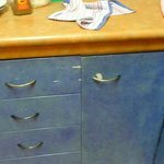 Chipped Kitchen units