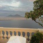 Vesuvio visto dal terrazzo
