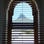 View of Lion's Head from one of room (side) windows