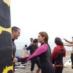 pukana surf preparando para entrar al mar