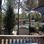 vue de la terrasse.holiday green