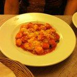 Gnocci at Cucina Romana