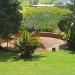 garden and boma / bbq / braai area