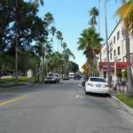 View of the Venice Ave.