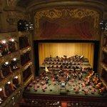 La sène de l'opéra de Nice
