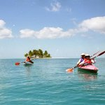 Sea Kayaking from Silk Caye 1992