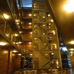 Interiores del hotel