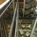 Vista desde el balcón interno