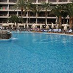 Pool view from my sunbed