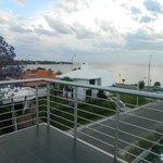Vista desde el balcón River Suite 308 al Sur