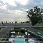 Vista desde el balcón River Suite 308 al Oeste
