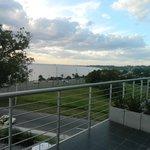 Vista desde el balcón River Suite 308 al Norte