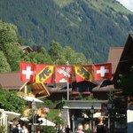 centre-ville de Gstaad