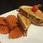 Philly Steak Gourmet Grilled Cheese