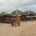 bar/ restaurant op het strand