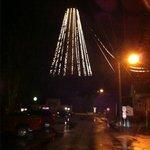 Lighting the Monument for Christmas 1