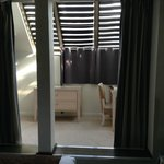 ingresso della suite e terrazzino